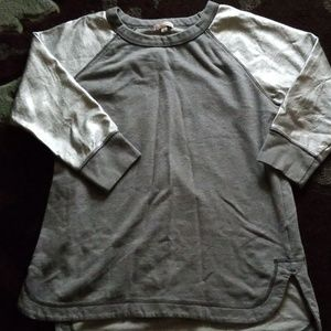 Gap Maternity, small, grey sweatshirt tunic